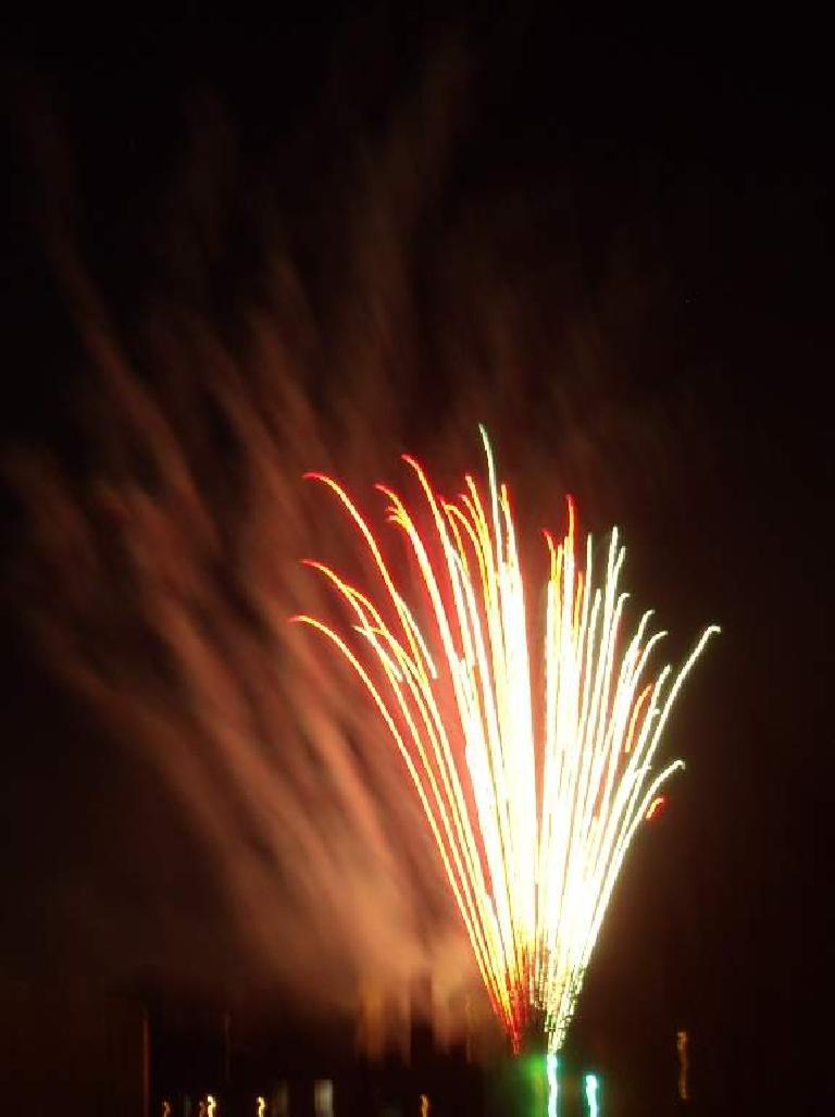 First Night Fort Collins was punctuated with a two-minute fireworks show over Old Town.  A nice start to the new year.