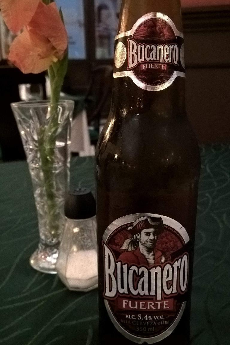 Bucanero is a heavily advertised beer in Cuba.