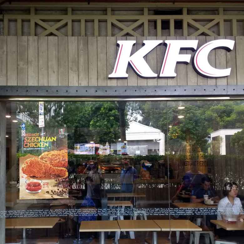 KFC in Singapore sells red hot Szechuan Chicken.