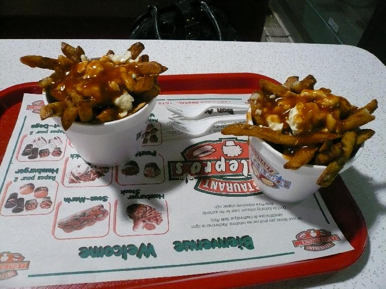 The second night in Montreal, I tried the quintessential Quebecois dish: poutine (just one serving though)!