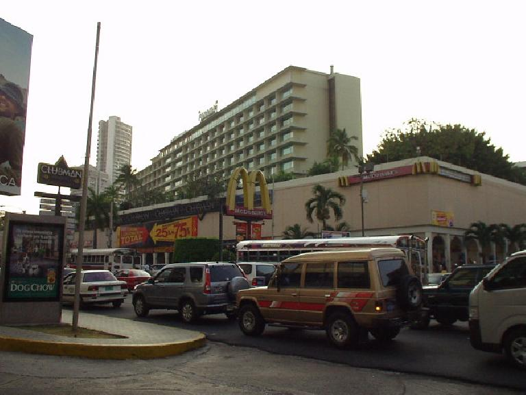Apparently there are McDonalds'restaurants (and KFC and Wendy's) in Panama City.  I haven't tried them. (February 27, 2007)