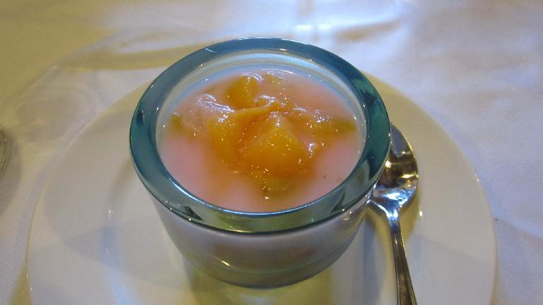 A fruit dessert.