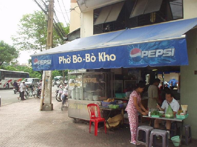 Pepsi is big here in Vietnam, moreso than Coke it seemed. (July 4, 2006)