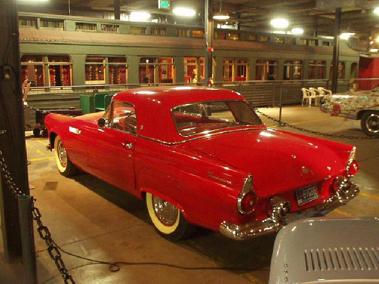 Ford's iconic Thunderbird.