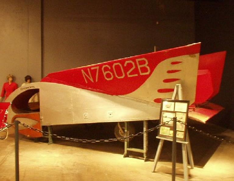 "An aircar (a car that could fly).  Note that this was purely ""experimental""!"