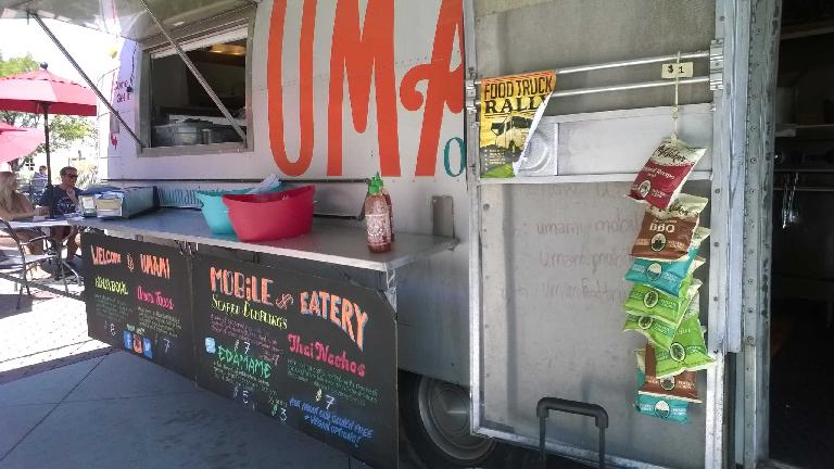 Umami food truck, Fort Collins