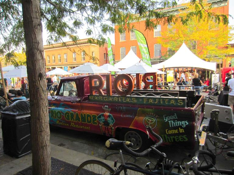 The Rio Grande margarita truck.