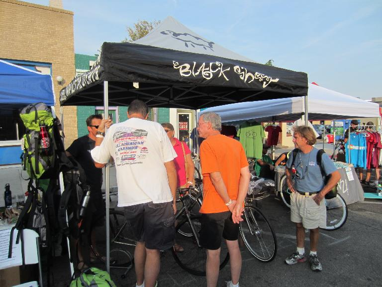 Black Sheep are custom built bicycles made in Fort Collins.
