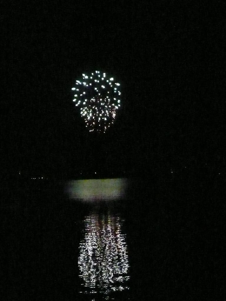 My vote for the best displays were by the Fort Collins Country Club when viewed over Long Pond.