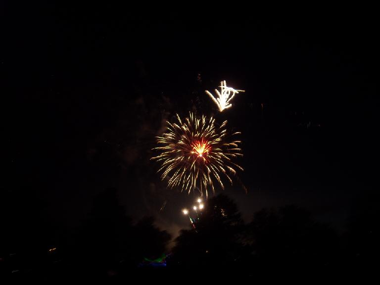 More fireworks.