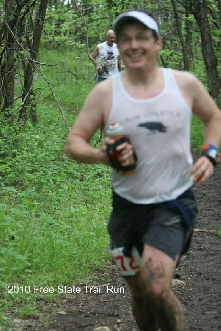 Scott also had a great race in the marathon, finishing 4th overall.