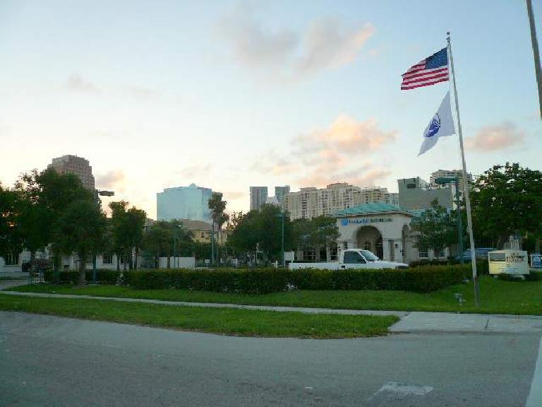 Downtown Fort Lauderdale has something of a skyline.