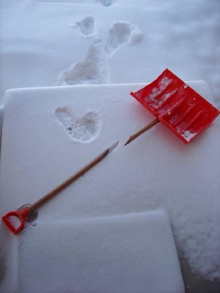 My new snow shovel had a six-year guarantee against breakage, but I broke it within two minutes!