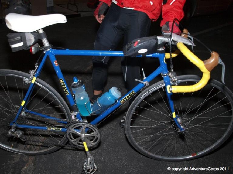 The Gitane did great with not a single mechanical problem.  She did her French roots proud. Photo: AdventureCorps.