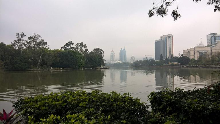 Zuohai Park in Fuzhou, China. (April 17, 2016)