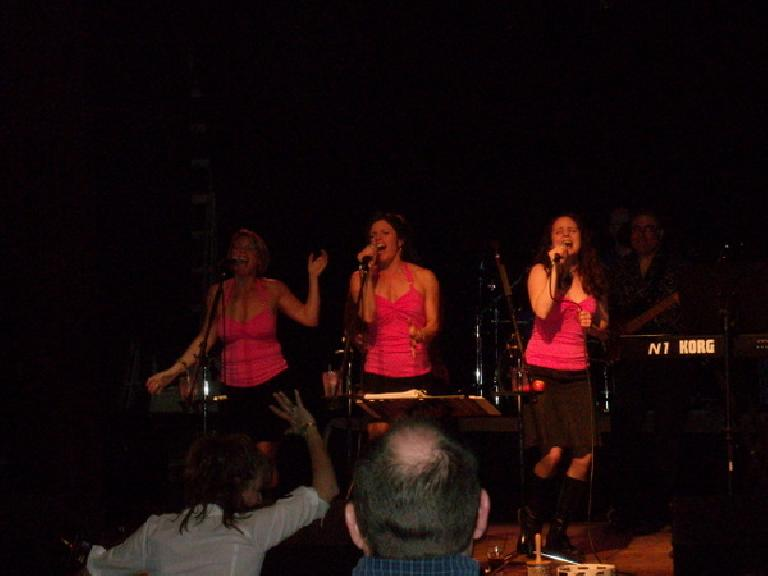 Girls on Top at the Dickens Opera House in Longmont, CO.