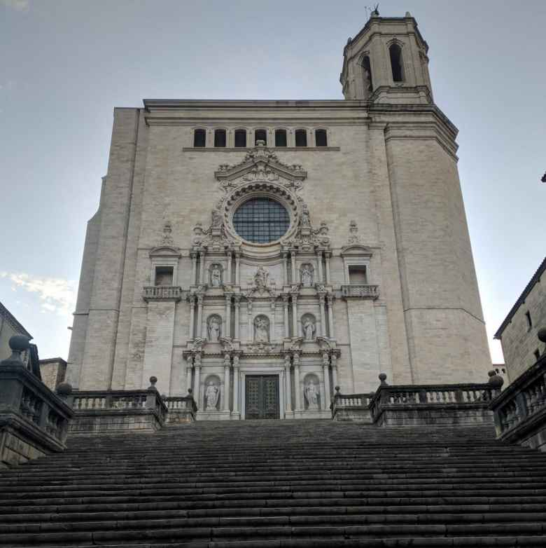 The Girona Cathedral.