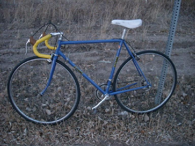 The 1984 Gitane Criterium on its first test ride in Colorado.
