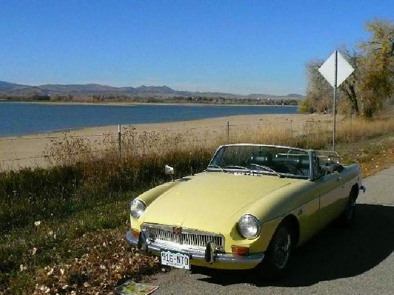 My last drive with Goldie, by Terry Lake.
