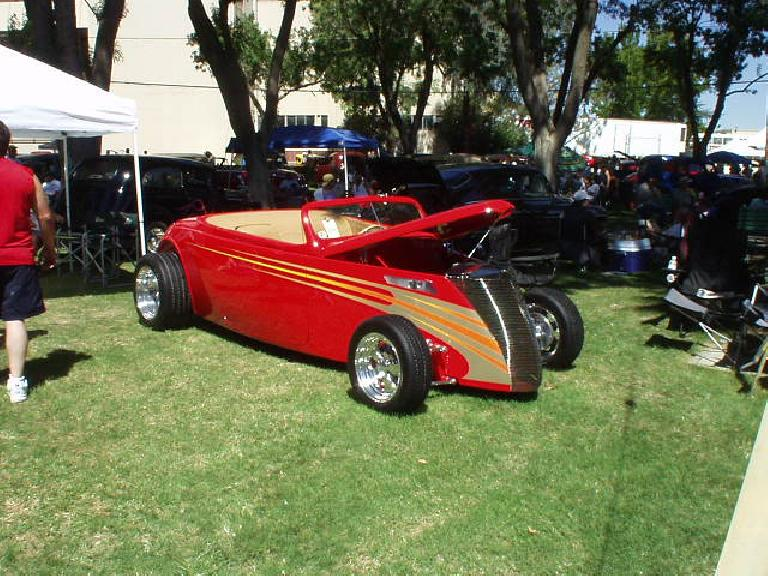 This was one of my favorite rods, of course being a roadster.