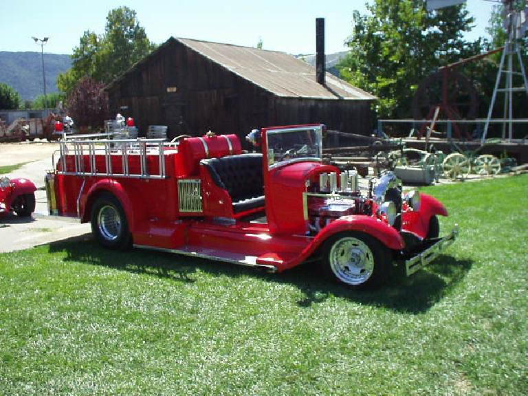 And firetruck!