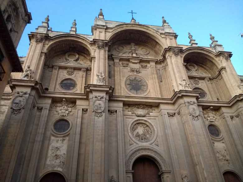 Capilla Real in Granada, Spain.