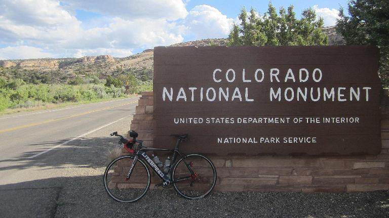 Litespeed Archon C2, Colorado National Monument, 2017 Grand Mesa Double Century