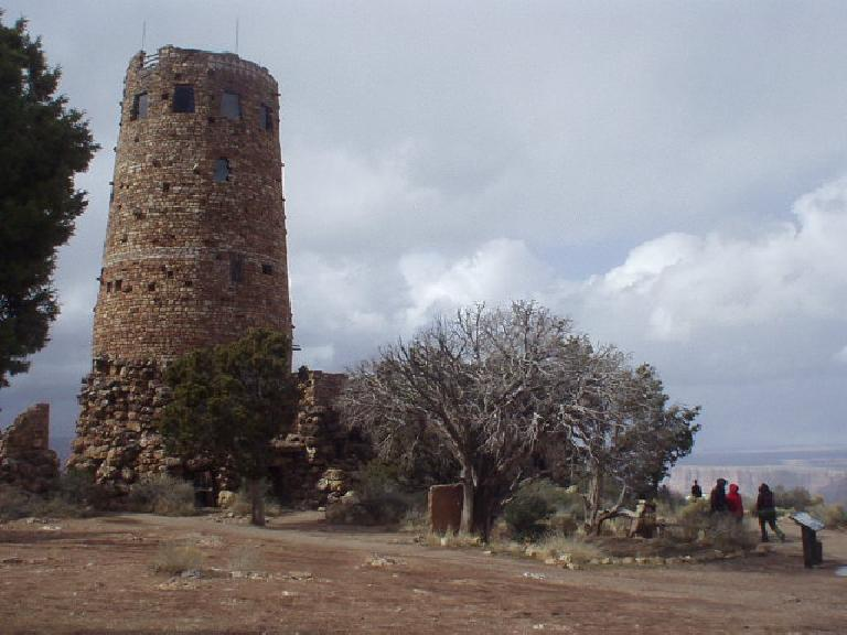 Watch tower at Desert View.