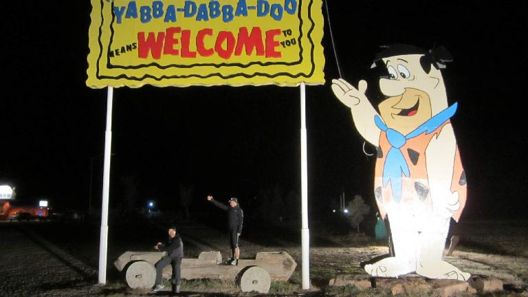 Flintstone's Bedrock City in Williams, AZ near the Grand Canyon.