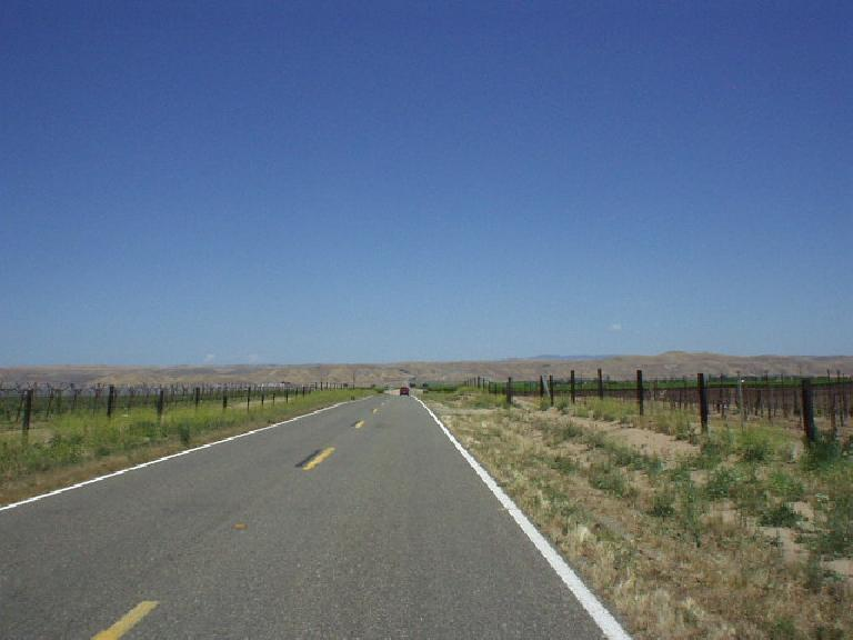 [Mile 53, 12:34 p.m.] Miles to nowhere: getting closer to Shandon.