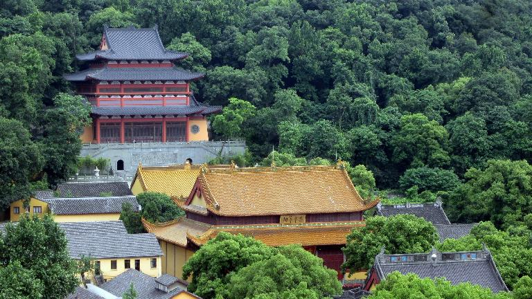 Another pagoda as seen from the Leifeng Tower.