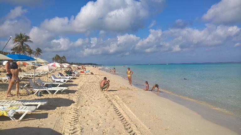 The third (most eastern) Playa del Este.