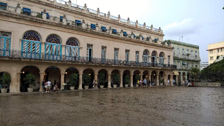 Plaza de Armas in Havana.
