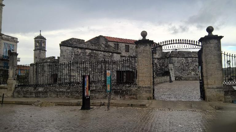 El Castillo de la Real Fuerza (Castle of the Royal Force).