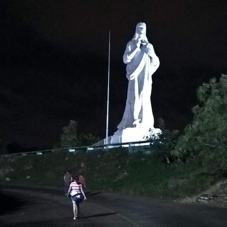 El Cristo de La Habana in Casa Blanca.