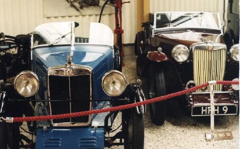Early MG Midget and TA.