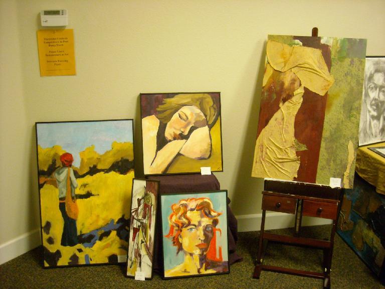 More of Leah's paintings.