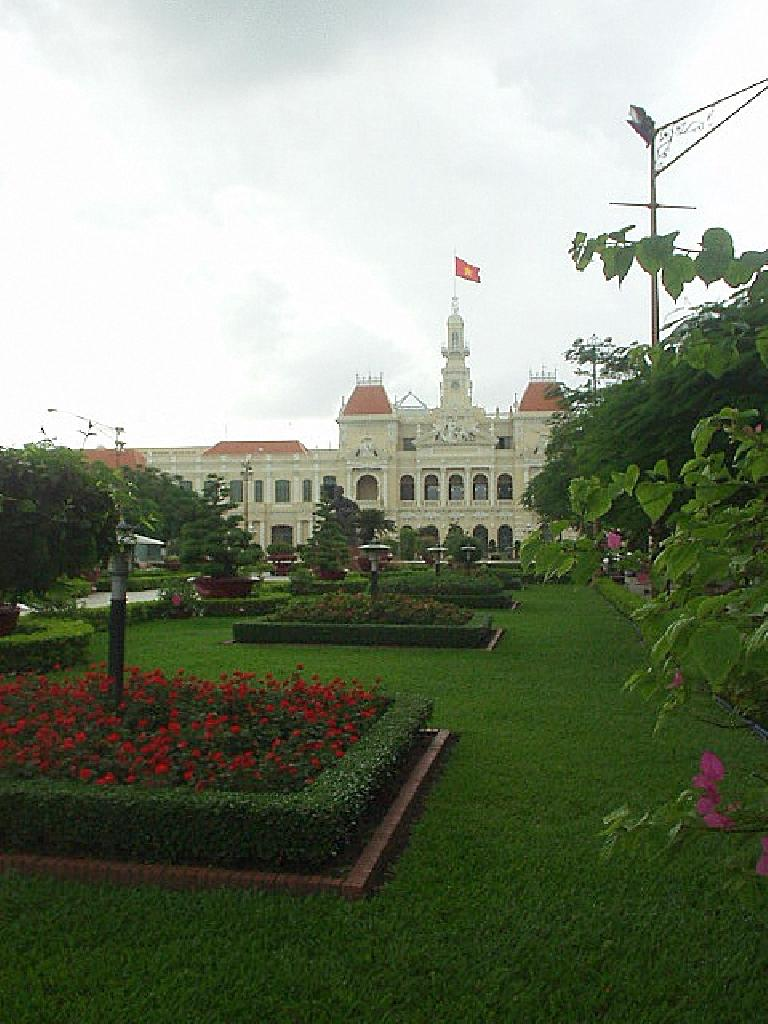City Hall in Saigon.