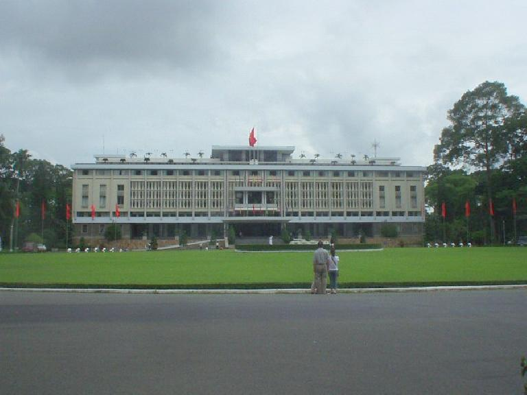 Reunification Palace.