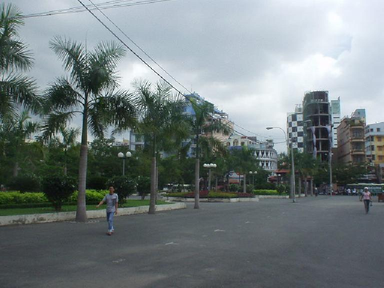 Backpacker Area of Ho Chi Minh City.