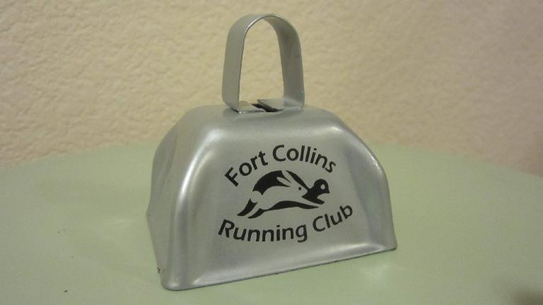The cowbell given to attendees.