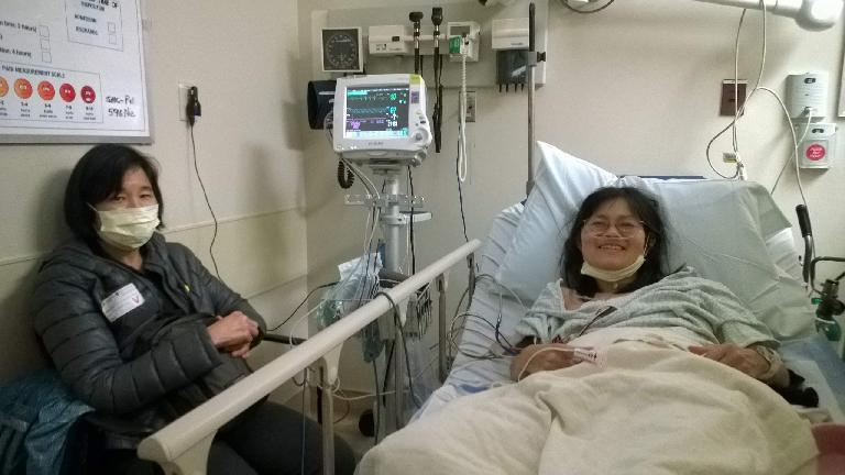Eva, Stacey Li Collver, emergency room