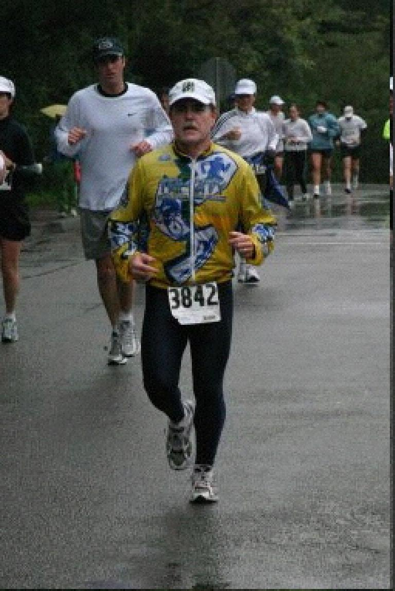 Here's Phil in the early going through Golden Gate Park.  Photo: brightroom.com.
