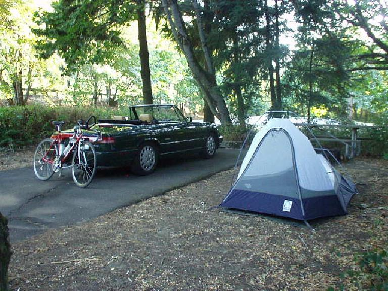 "The first night I camped in Viento State Park--an appropriate name, since ""viento"" in Spanish means ""windy"" (which this place most certainly is).  Despite my campsite being right next to the freeway and a freight train, I really liked this park."