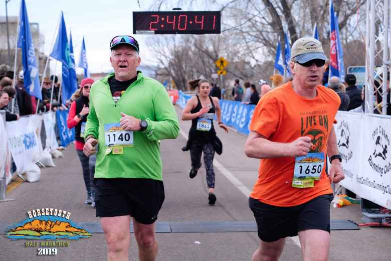 My friend Matt ran his second half-marathon ever, cutting 15 minutes off last year's time.