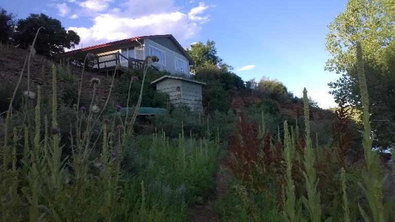 Home near Satanka Cove at Horsetooth Reservoir.