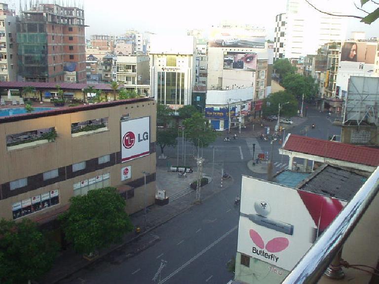 Another view of the street. (July 6, 2006)