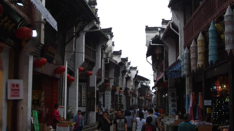 Tunxi Ancient Street. (May 20, 2014)