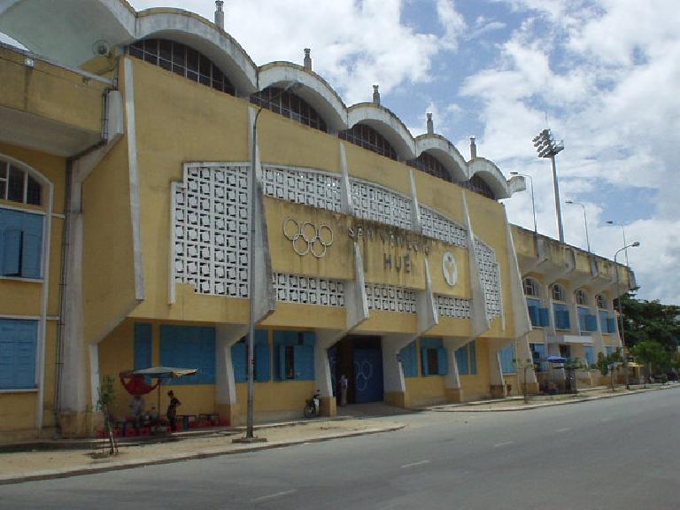 An olympic stadium in Hue.