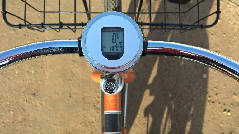 The day my 2012 Huffy Cranbrook cruiser surpassed 1000 miles.